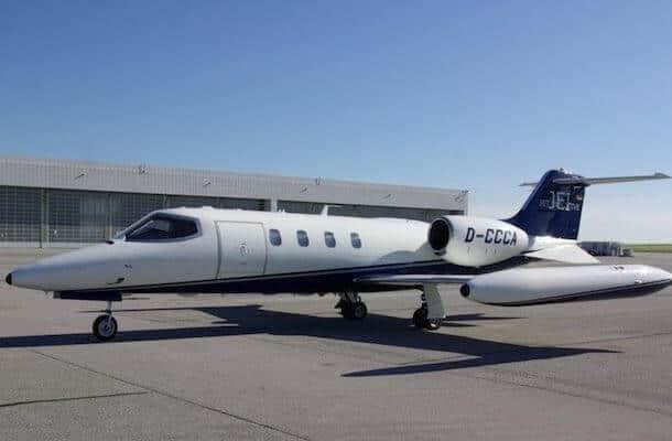 Learjet A35 for ambulance flight