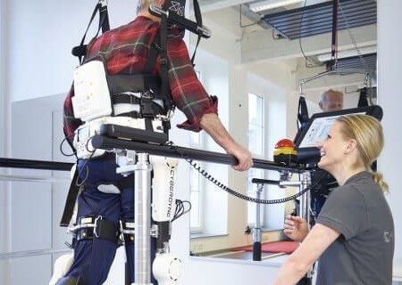 rehabiliation with robotic system germany