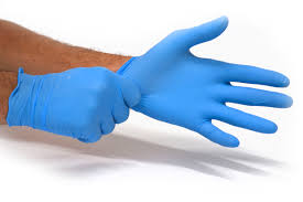 nitrile gloves powder-free